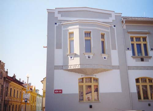 Rekonstrukce bytového domu, ul. Jiráskova, Mělník
